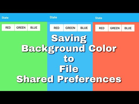 Saving State of an object to file Shared preferences
