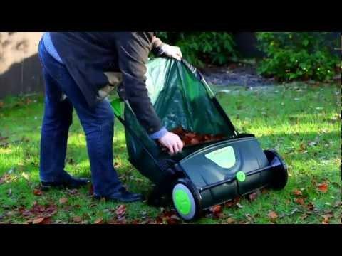 Eckman 117 Litre Push Leaf Sweeper