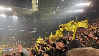 Borussia Dortmund : Eintracht Frankfurt 4:0 Highlights Südtribüne und Choreo