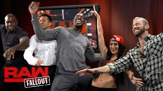 """Titus Worldwide wishes Nikki Bella well on """"Dancing with the Stars"""": Raw Fallout, Sept 11, 2017"""