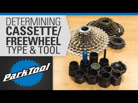 Determining Cassette/Freewheel Type & Tool
