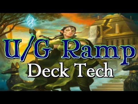Mtg Deck Tech: U/G Ramp in Amonkhet Standard!
