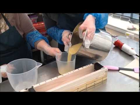 Portland College Handcrafted Soap Making Session Natural Handmade Lavender Soap