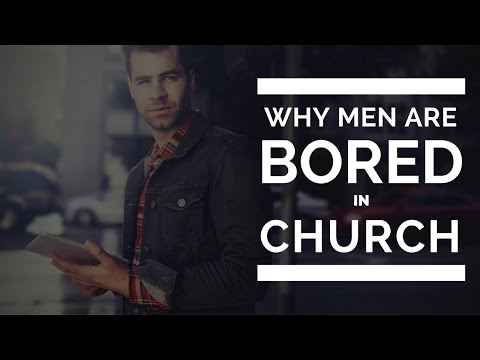Men are bored in church.  Stop the virus from spreading!