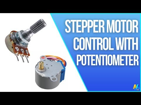 Arduino Tutorial - Stepper Motor Control with Potentiometer