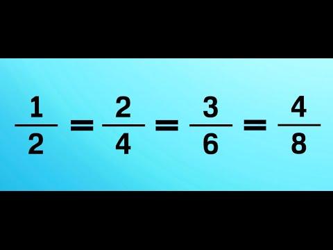 Equivalent Fractions | Mathematics Tutorial