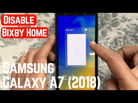 How to Disable Bixby on Samsung Galaxy A7 (2018)