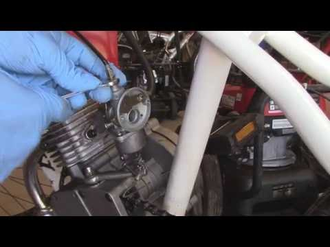 Motorized Bicycle Carburetor Removal and Cleaning