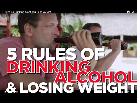 5 Rules To Drinking Alcohol & Lose Weight