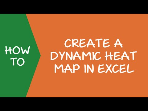 Creating a Dynamic Heat Map in Excel Using Scroll Bar