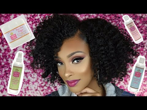 EASY 4 PRODUCT WASH DAY + SUPER DEFINED TWISTOUT ROUTINE TUTORIAL & GIVEAWAY!