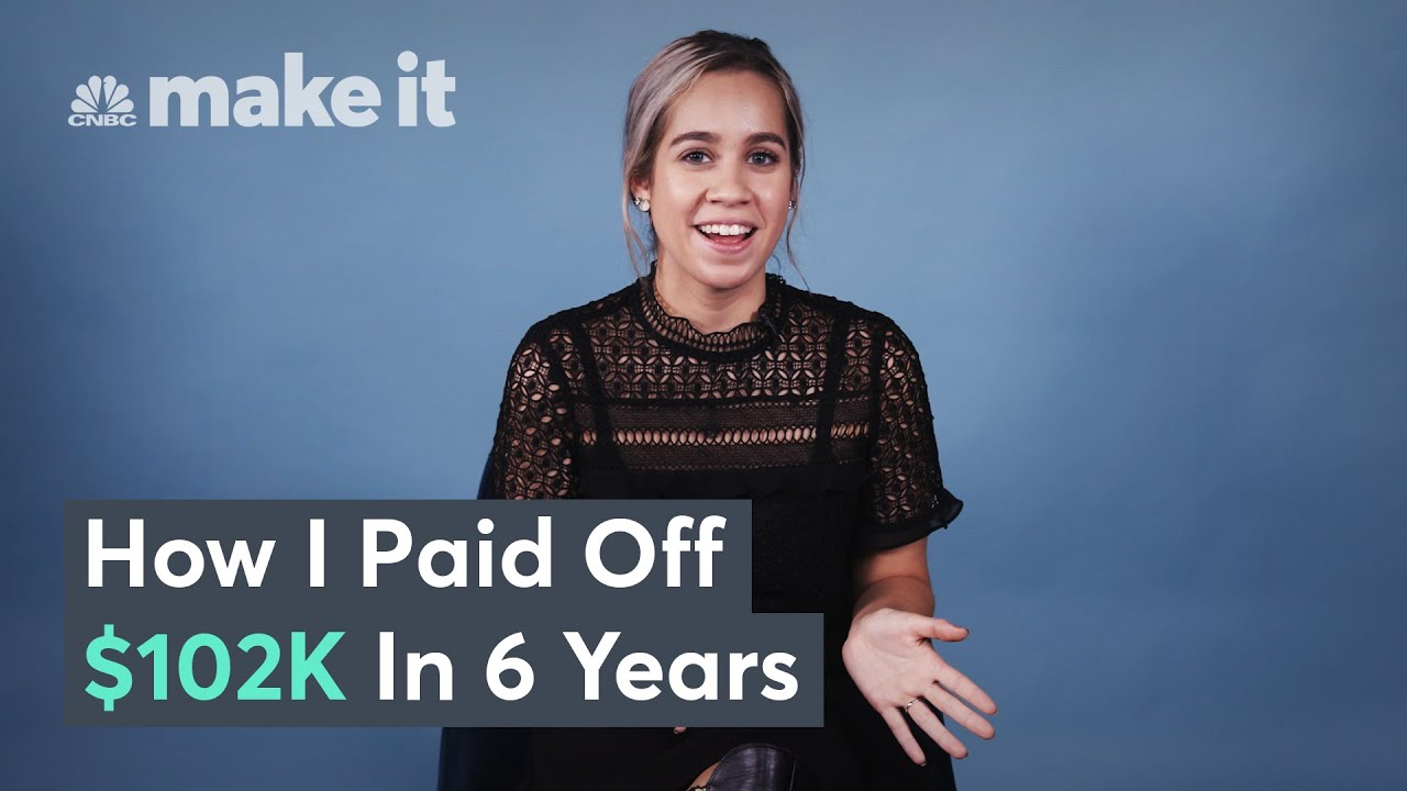Paying Off $102K In Student Loan Debt