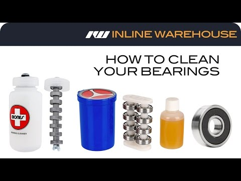 How to Clean Your Bearings