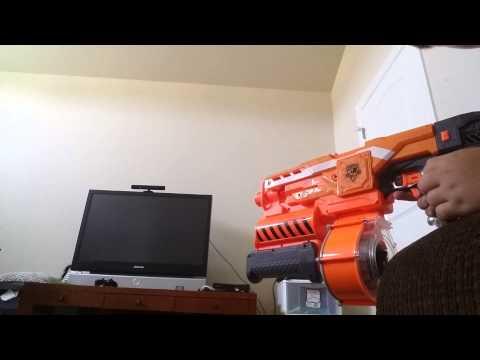 How to make a Nerf Gun Shoot bbs