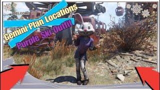 Fallout 76 Hidden Costume Plans Location