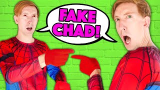 WHO is the REAL CHAD? FAKE CWC vs Spy Ninjas Challenge Surprising Tricks & Pranks like Twin Brothers