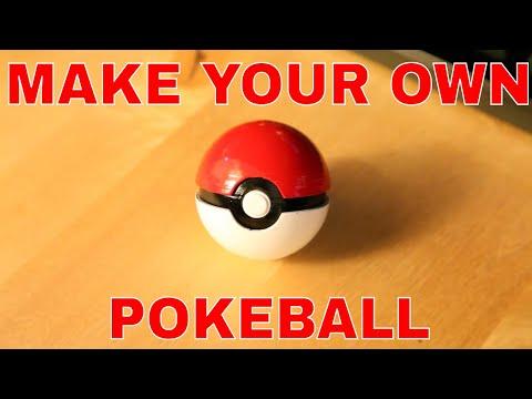 How to make a realistic Pokeball on desktop 3D Printer