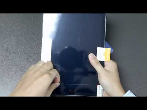 How to apply iCarez screen protector on iPad Air with the supplied easy installation kit