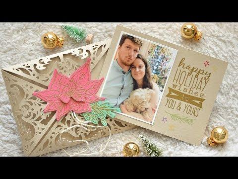 Easy but unique DIY Photo Christmas Card
