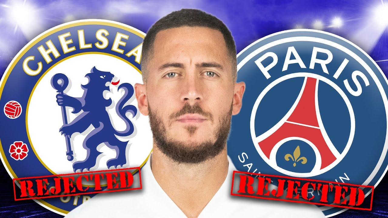 Eden Hazard REJECTS Chelsea & PSG To Stay At Madrid! | #TransferTalk