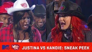 Justina Valentine Heats Up the Ring w/ Kandie 🔥  Wild
