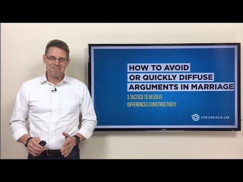 How To Avoid Or Quickly Defuse Arguments In Marriage
