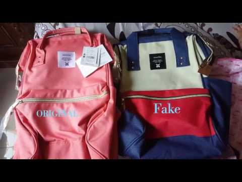 ANELLO backpack Ori vs Fake
