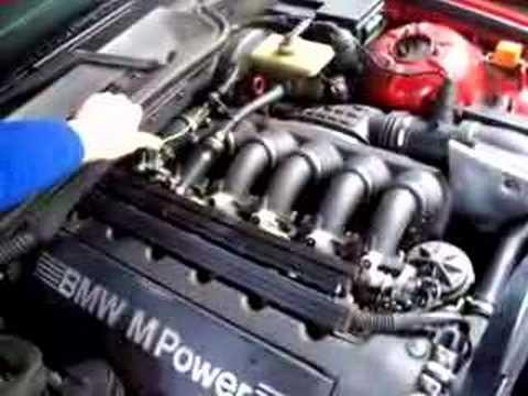 BMW E36 M3US 3 2 install RHD Open ITB Kit frist Start - Bmw