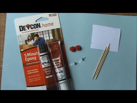 How To: Use Devcon 5 Minute Epoxy Glue