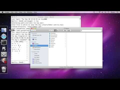 Set Up Public Key Authentication for SSH on the Mac [Part 1]