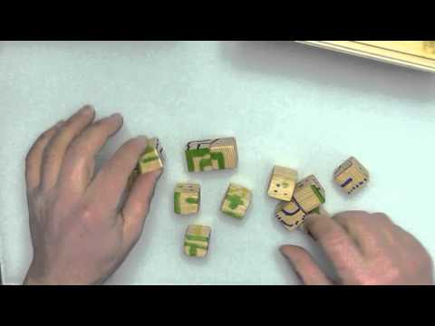 DIY Geocache #Wood Cube Puzzle