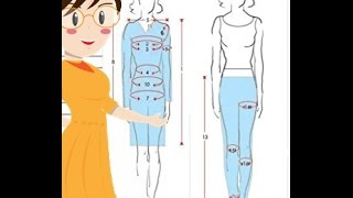How To Take Body Measurements To Make Dresses Tailoring With Usha