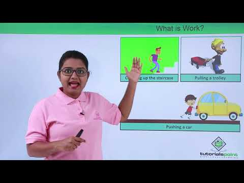 Class 9th Physics - Work and Energy - Scientific conception