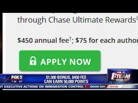 I-Team: Big Credit Card Sign Up Bonuses