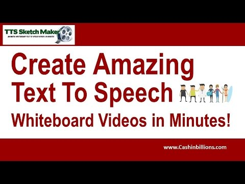 TTS Sketch Maker Review | Text to Speech | Whiteboard Video Software