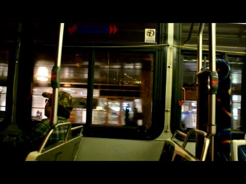 MONTREAL STM BUS RIDE THROUGH PIERRE ELLIOTT TRUDEAU AIRPORT