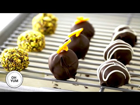 Delicious Chocolate Truffles - Anna Olson