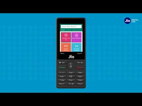 How to Set JioTunes in JioPhone (Kannada) | Reliance Jio