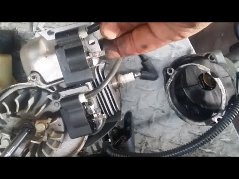 Ryobi CS30 weed eater ignition coil replacement and repair