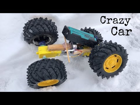 How to Make a Car - Powerful DIY Car - Easy to Build