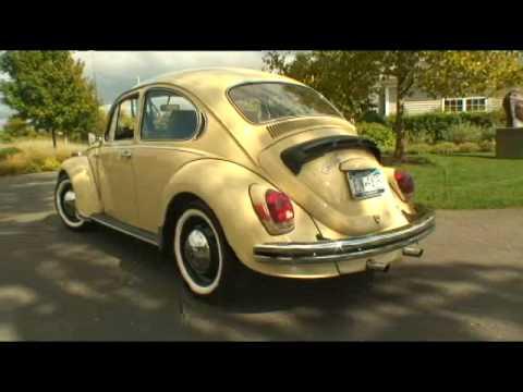 Classic 1971 VW Super Beetle Bug Auto Stick Sedan on Auction Now
