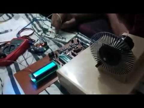 Speed controlling of DC motor by using AVR micro controller atmega32