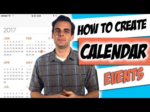 How to Create an iPhone Calendar Appointment