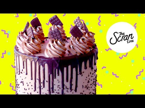 How To Bake and Decorate The ULTIMATE Chocolate Cake! - The Scran Line
