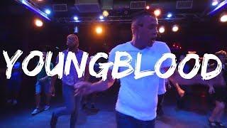 Youngblood - Line Dance Demo | 5sos | Carlton Thompson Choreography