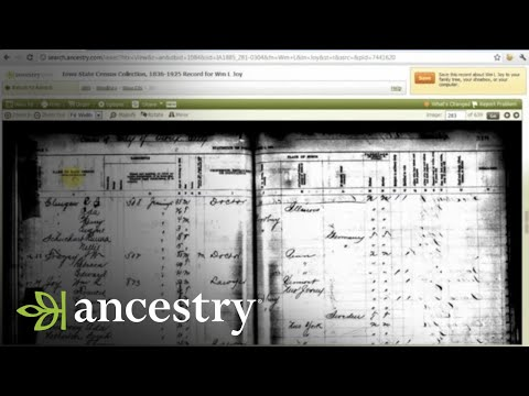 Finding Family History Clues in State Census Records
