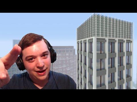 Step-By-Step Minecraft Skyscraper Design