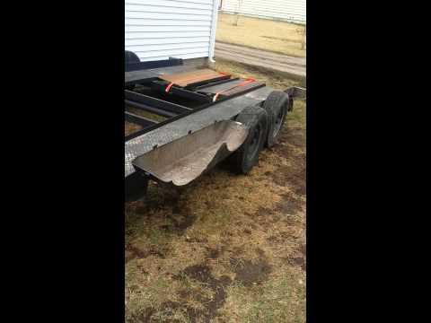 Custom trailer fender mod