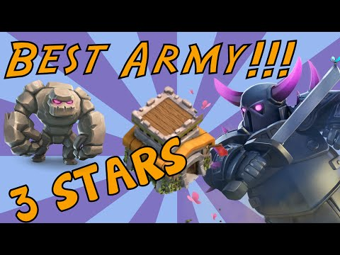 Clash of Clans TownHall 8 | 3 STAR Attack | Top Army
