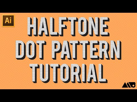 Adobe Illustrator Halftone Dot Pattern Tutorial